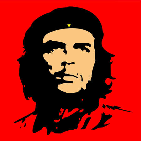Che Guevara Ernesto cuba revolution illustration