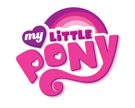 my little pony illustration logo Editorial