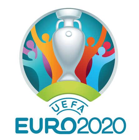 uefa logo Union of European Football Associations 2020