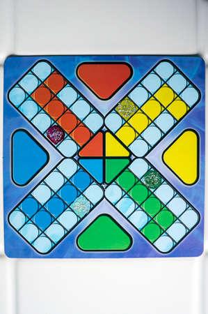 ludo game board color leisure strategy fun