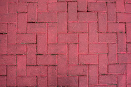stone concrete red color paving road street sidewalk texture