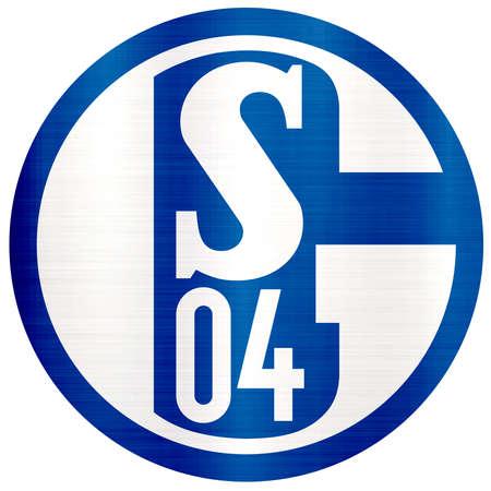 s04  metallic illustration logo Standard-Bild - 104748017