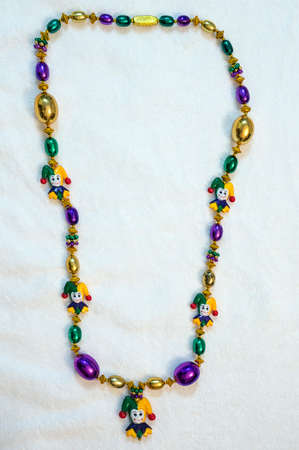 bead mardi gras  fat tuesday carnivale  holiday jester