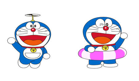 doraemon character cat japan manga illustration