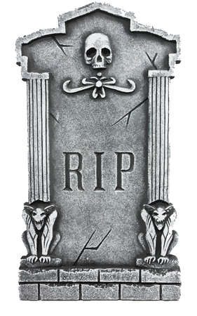 rip tomb grave cemetery halloween rest in peace illustration