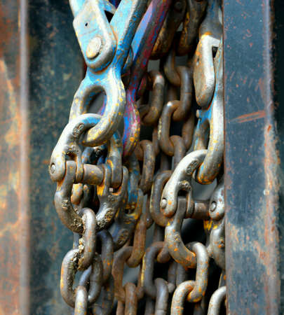 heavy duty: Heavy duty chain and hook
