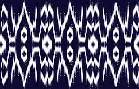 Seamless embroidery pattern Line up. Patchwork ornament.