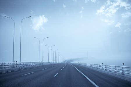 shanghai yangtze river bridge,China photo