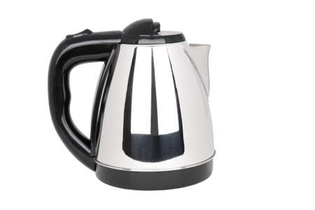 electrical tea kettle isolated on white Stock Photo - 8420881