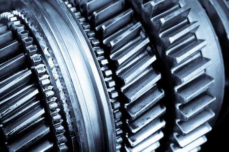 close up of das Getriebe in Pkw-Automatgetriebe