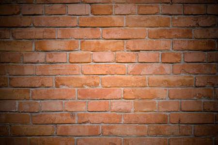 brickwalls: old red brick wall background