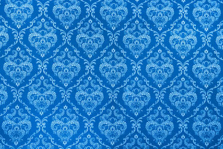 texture background of the blue calico photo