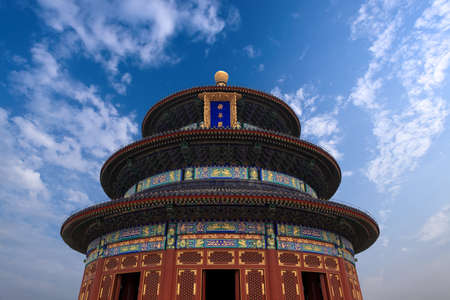temple of heaven,the hall of prayer for good harvests photo