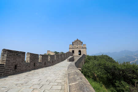 great wall: the great wall of China in beijing Editorial