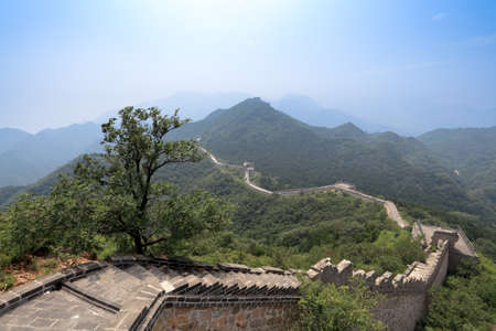 without the restoration of the great wall in beijing,China