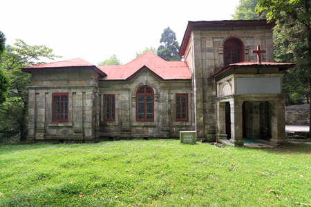 missionary: old christian chapel in lushan,China