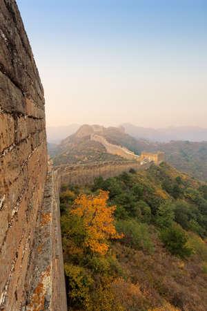 China great wall at autumn Stock Photo - 10840794