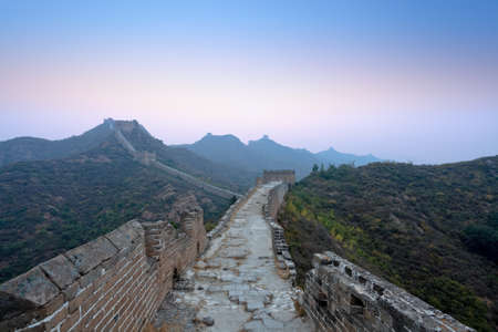 the great wall of china in dawn Stock Photo - 11109154