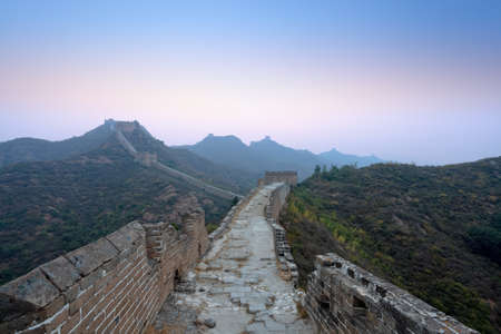the great wall of china in dawn Stock Photo - 11144871