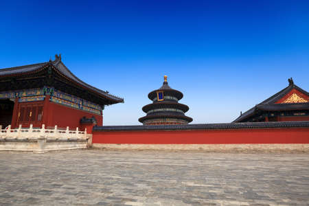 temple of heaven in beijing,China photo