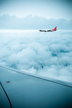 airfoil: airfoil and stratosphere,aircraft in the sky