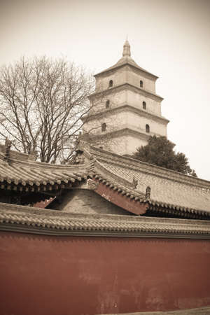 big wild goose pagoda Stock Photo - 14765261