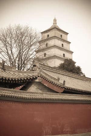 big wild goose pagoda Stock Photo - 14765261