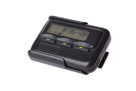 pager: pager isolated on white background
