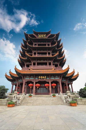 regarded: the new yellow crane tower is regarded as the symbol of chinese wuhan city