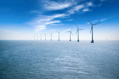 Offshore-Windpark in Shanghai in der ostchinesischen Meer