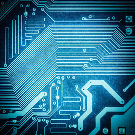 electronic background: circuit board texture closeup ,tech industrial electronic background