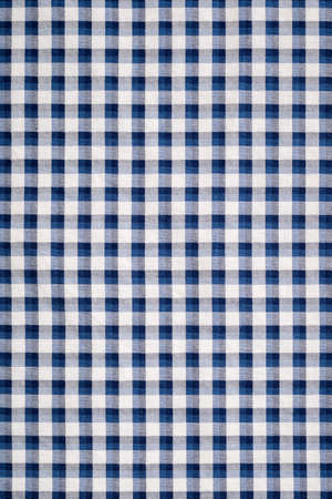 place mat: blue gingham cloth texture background