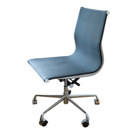 swivel: swivel chair isolated on white with clipping path Stock Photo