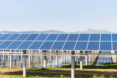 generates: solar power plant generates energy during the day