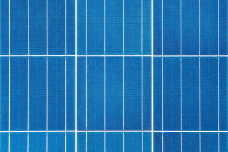 solar energy panel closeup, blue photovoltaic power background texture Фото со стока