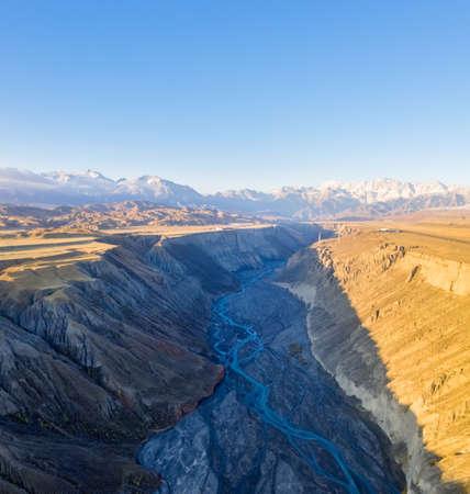beautiful xinjiang anjihai grand canyon, China