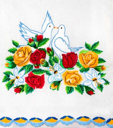 embroidery, art, handicraft Stock Photo