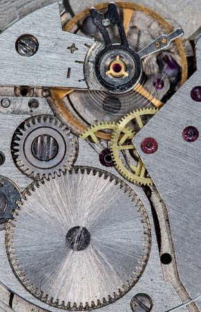 clockwork old mechanical watch, high resolution and detail Standard-Bild - 94598343