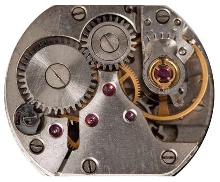 clockwork mechanical watch, high resolution and detail