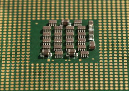 microprocessor, chip, high-resolution photo
