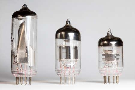 vacuum tube, radio Stock Photo