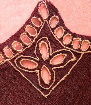 Ukrainian folk embroidery, handmade