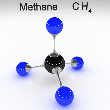 molecule, methane