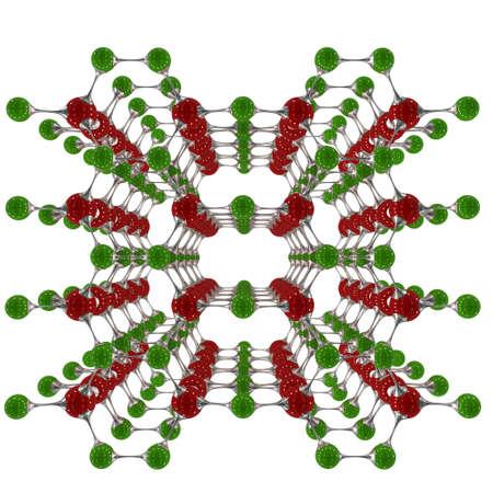 molecule, 3D illustration