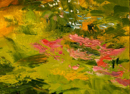 Oil painting, abstract Foto de archivo