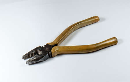 Pliers, hand-held fitters and assemblers tools Stock Photo
