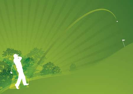 torneio: Stylish dynamic golf swing01