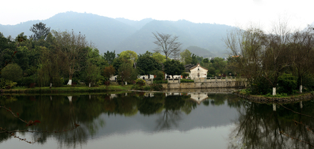 Scenery at Former Residence of Ye Jianying, Mei County
