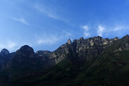 wan: Wan scenic mountains Stock Photo