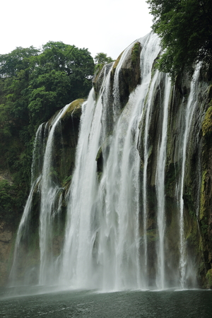 cataract waterfall: Huangguoshu Waterfall Stock Photo